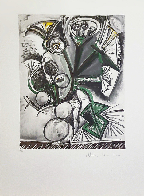 Pablo Picasso, 'LE BOUQUET', 1979-1982, Reproduction, LITHOGRAPH ON ARCHES PAPER, Gallery Art