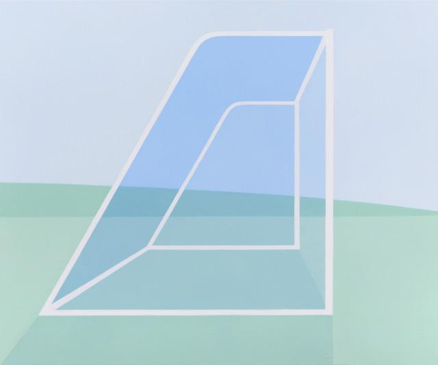 , 'Blue Nets,' 2013, Andréhn-Schiptjenko