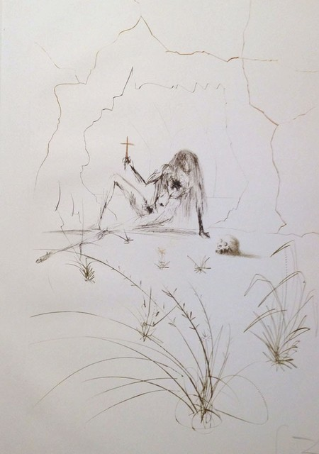 Salvador Dalí, 'Tristan and Iseult : Brother Ogrin, the Hermit', 1970, Samhart Gallery