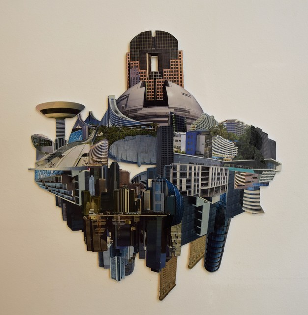 , 'FUTURE CITY 6 - JANUS II. ,' 2013, VILTIN Gallery