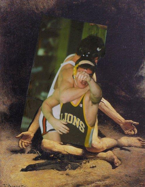 , 'Wrestlers 9-1-08,' 2008, Hosfelt Gallery