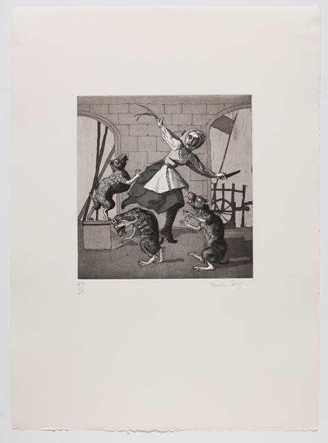 Paula Rego, 'Three Blind Mice I', 1989, Marlborough Graphics
