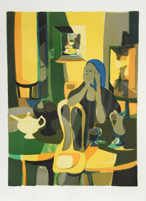 Marcel Mouly, 'At the Cafe', ca. 1977, RoGallery