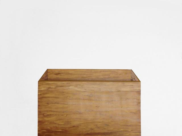 , 'Sem Título (caixa de madeira) [Untitled (wooden box)],' 2014, Casa Triângulo