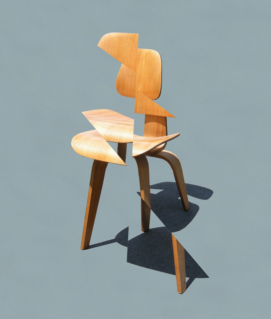 , 'Deconstructing My Eames Chair,' 2016, Bruno David Gallery