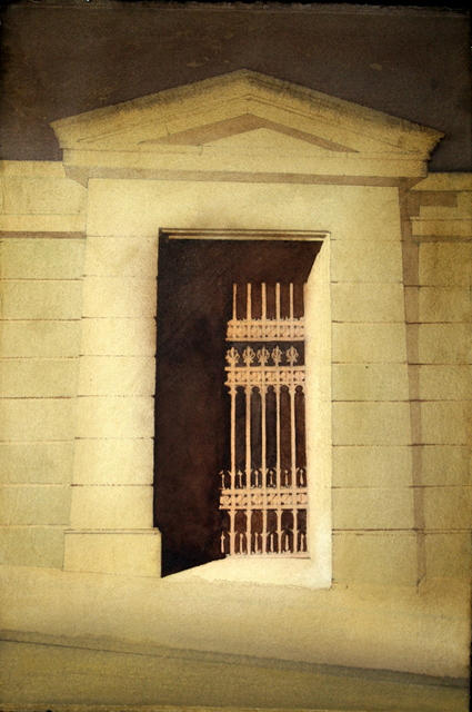 , 'Royal High School Doorway,' 2016-2016, The Scottish Gallery