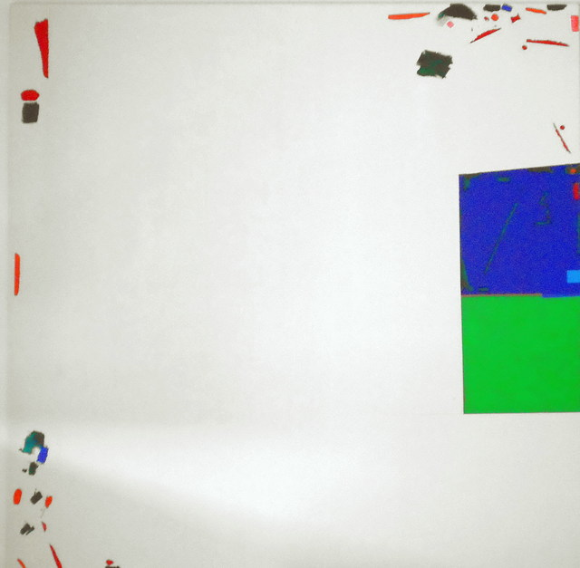 , 'Large White Painting,' 2000, Jorge Mara - La Ruche