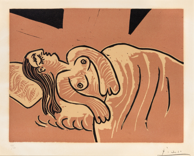 Pablo Picasso, 'Femme endormie', 1962, Hindman