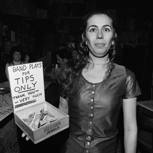 , 'Playing ForTips, Tootsie's Orchid Lounge, Nashville, TN,' 1974, Scott Nichols Gallery