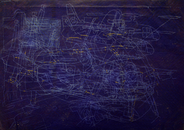 , 'Indigo Power,' 2012, SARIEV Contemporary
