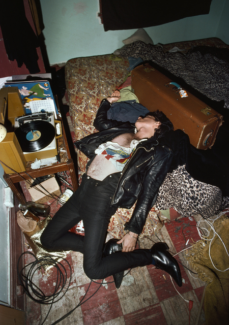 , 'Guy passed out,' 1979, Casemore Kirkeby