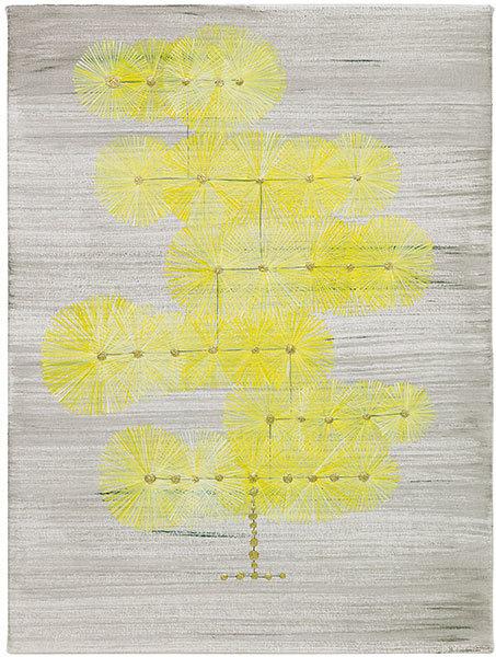 , 'six layer tree,' 2018, Craig Krull Gallery