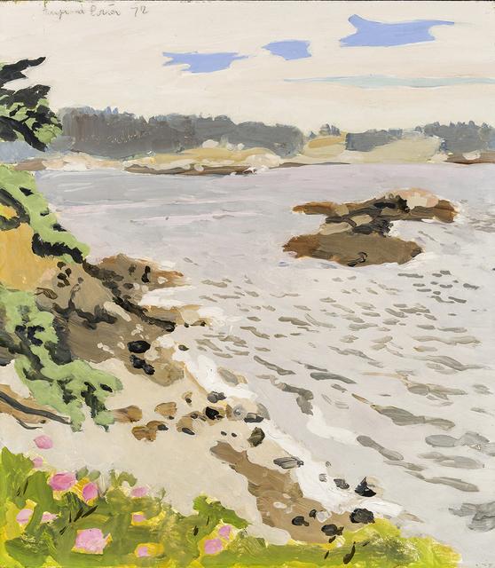 , 'Steep Bank Beach,' 1972, Hirschl & Adler Modern