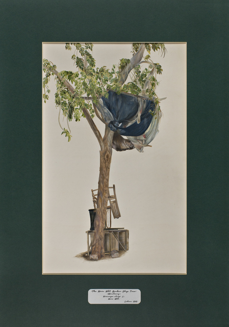 , 'Trees of Pakistan - The Main Mkt. Barber Shop Tree, Maulsary,' 2013-2014, GALLERYSKE