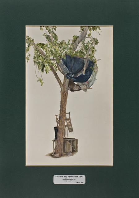 David Chalmers Alesworth, 'Trees of Pakistan - The Main Mkt. Barber Shop Tree, Maulsary', 2013-2014, GALLERYSKE