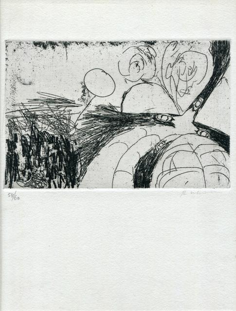 Robert Whitman, 'Untitled ', 1962-1964, Print, Etching on Paper, Studio Mariani Gallery