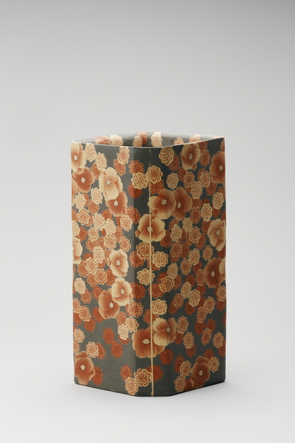 , 'Mumyōi Neriage; Square Jar with Flower Patterns,' 2016, Onishi Gallery