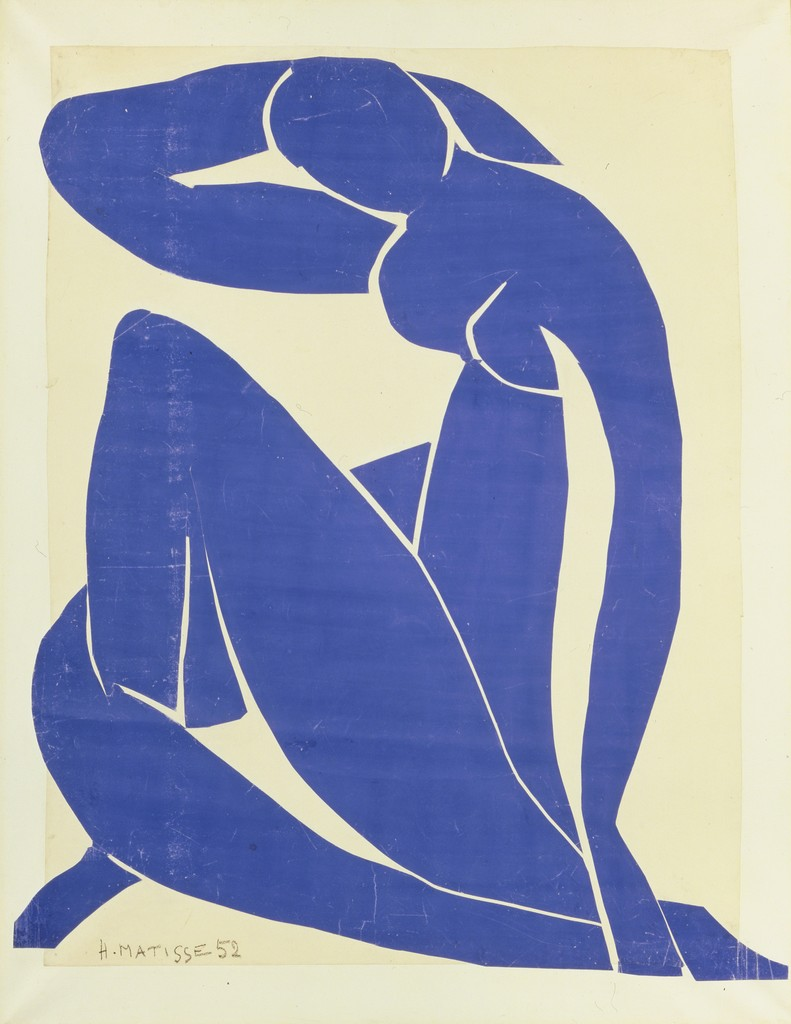 Henri Matisse, 'Blue Nude II,' 1952, ARS/Art Resource