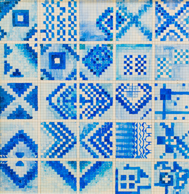 , 'Fromthe Series Patterns of a Tactile Score,' 2017-2018, Exhibit 320