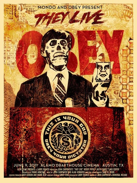 Shepard Fairey (OBEY), 'They Live Mondo', 2011, Dope! Gallery