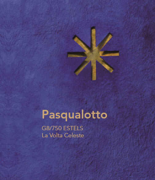 , 'Catalogue of the project g8/750 stars from Mario Pasqualotto,' 2016, PontArte
