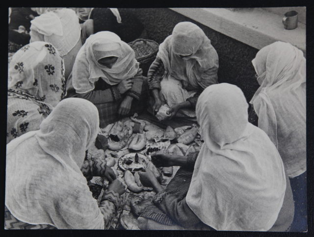 Alfred Eisenstaedt, 'Anatolian women taking a typical lunch break in Smyra. White bread, olives and melon.', 1934, Laurence Miller Gallery