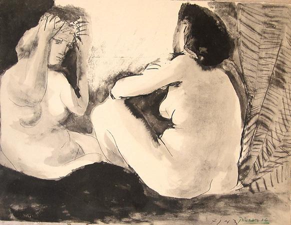 Pablo Picasso, 'Deux Femmes', 1943, Bruce Lurie Gallery