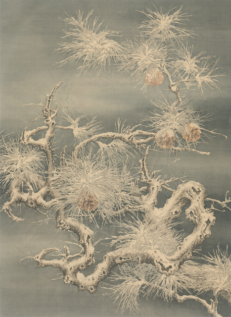 , 'Pine, Bamboo and Plum Series - Pine,' 2018, Chelesa Art (潔思園)