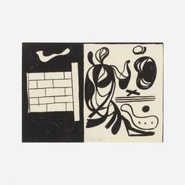 Carl Holty, 'Untitled,' c. 1935, Wright: Art + Design (February 2017)