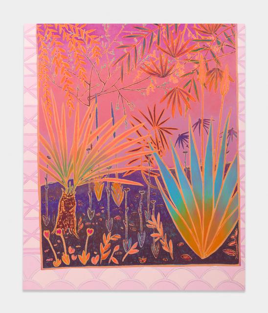 , 'slumbers honeyed flourishing,' 2017, Shane Campbell Gallery