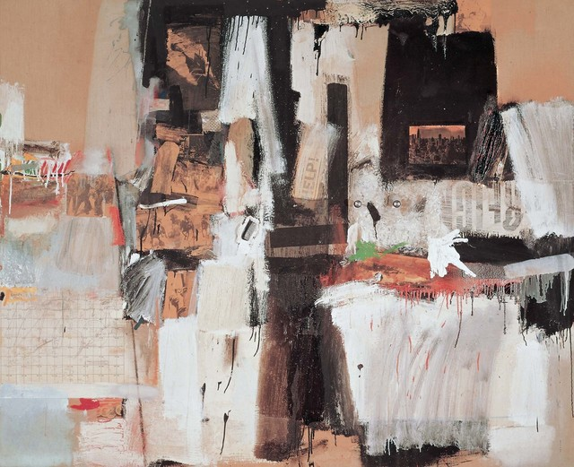 Robert Rauschenberg, 'Broadcast', 1959, Combine: oil, graphite, paper, fabric, newspaper, printed paper, printed reproductions, and plastic comb on canvas with three concealed radios, Robert Rauschenberg Foundation