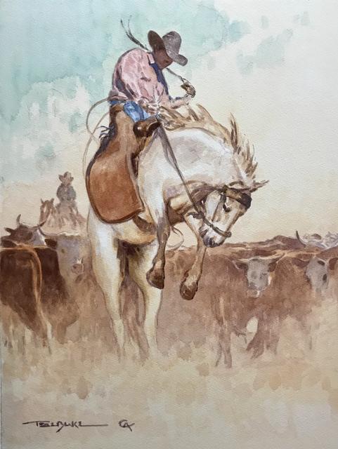 Teal Blake, 'The Bronc Twister', 2019, Maxwell Alexander Gallery