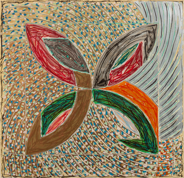 Frank Stella, 'Polar Co-Ordinates VII (from Polar Co-Ordinates for Ronnie Peterson)', 1980, Print, Lithograph and screenprint in colors, Hindman
