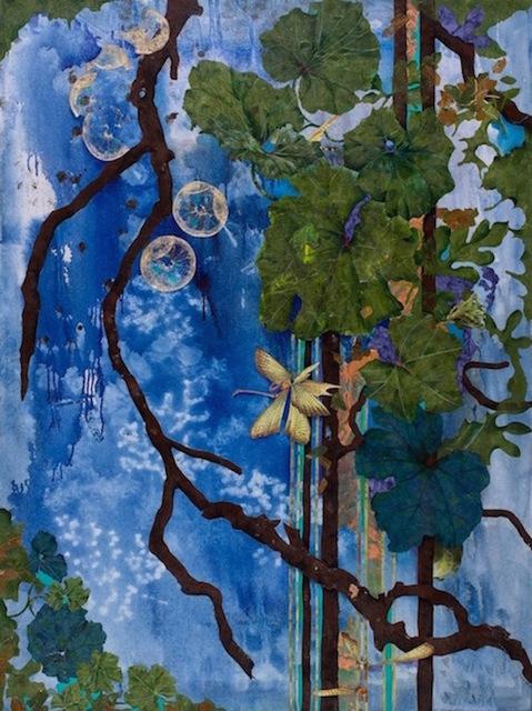 Lauren Jones Worth, 'Flight of the G.E.P.'s (Grapefruit Evacuation Pods)', 2012, Walter Wickiser Gallery