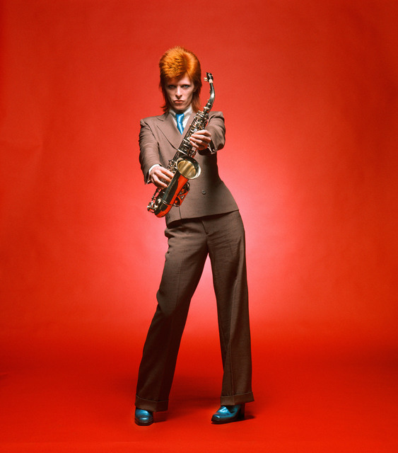 , 'Bowie, Sax Full-Length Color,' 1973, TASCHEN