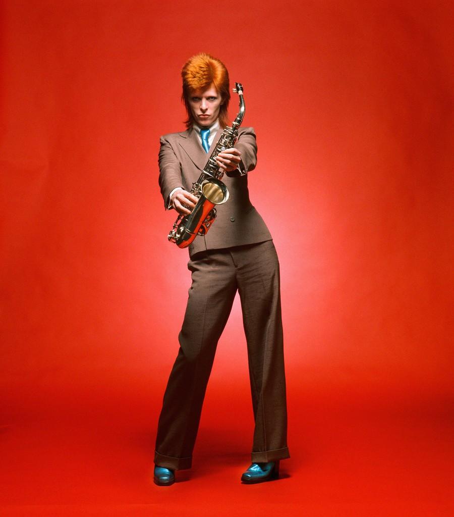 Mick Rock, 'Bowie, Sax Full-Length Color,' 1973, TASCHEN