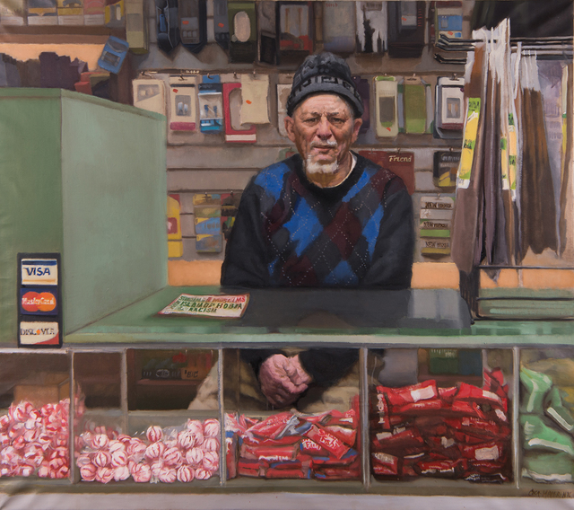 , 'Bodega Painting,' 2017, Bernarducci Gallery