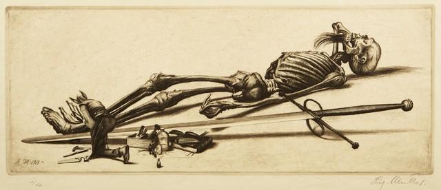 , 'Klein Mensch (Der Kritiker),' 1918, Childs Gallery