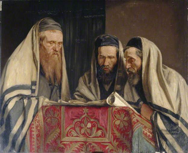 , 'Reading the Book of Esther,' 1907, Ben Uri Gallery and Museum