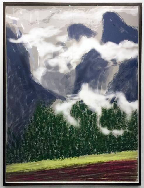 David Hockney, 'Yosemite II, October 5, 2011', 2011, Jonathan Novak Contemporary Art