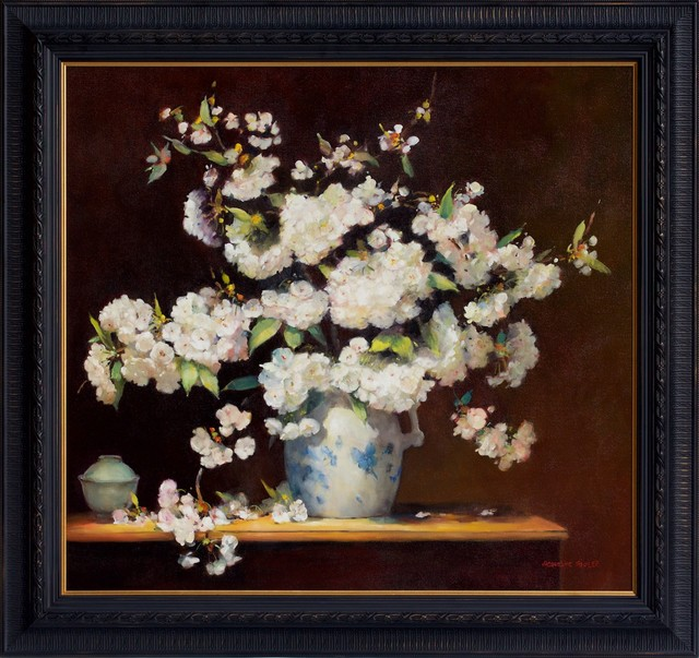 Jacqueline Fowler, ''Fuji Cherry Blossoms'', 2014, Wentworth Galleries