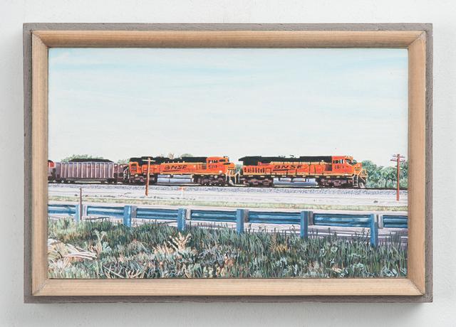 , 'Eastbound Freight Train, US Highway 50, Colorado,' 2014-2017, Valley House Gallery & Sculpture Garden