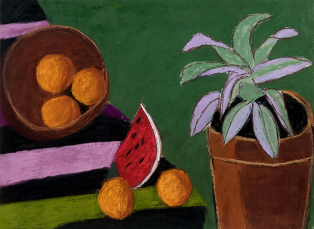 , 'Mexican Still Life with Cactus,' , Wallace Galleries