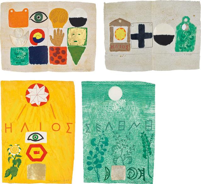 Joe Tilson, 'Signatures', 1987-88, Phillips