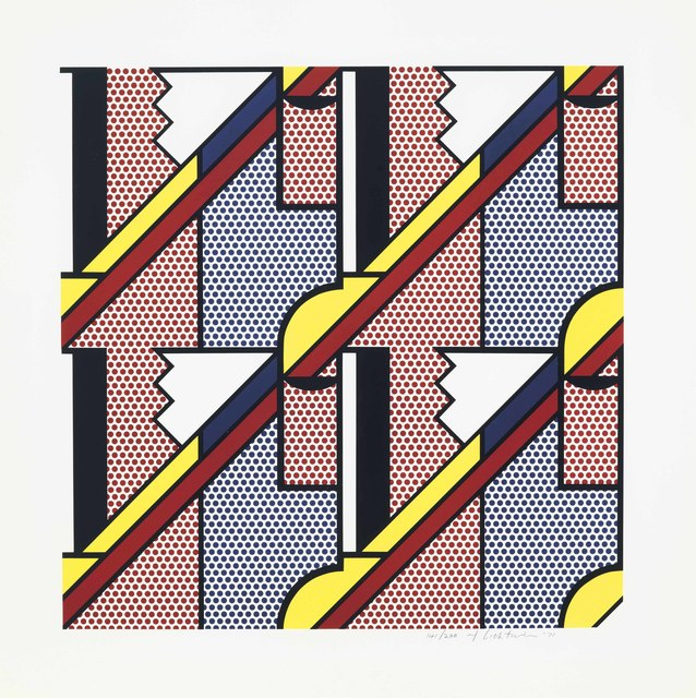Roy Lichtenstein, 'Modern Print', 1971, Print, Lithograph and screenprint in colors on Special Arjomari paper, Zeit Contemporary Art
