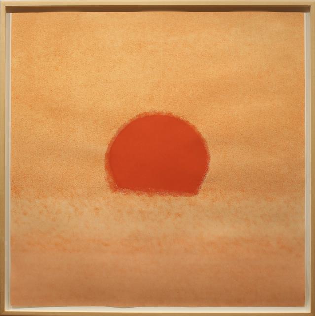 Andy Warhol, 'Sunset', 1972, Print, Screenprint on paper, Woodward Gallery