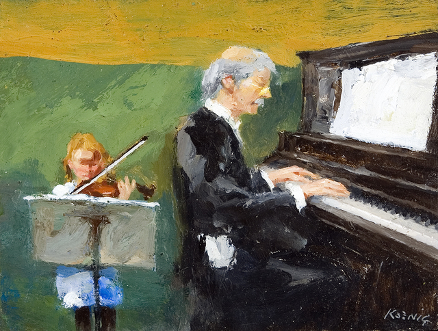 , 'The Music Lesson ,' , Dowling Walsh