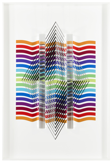 Leonard Janklow, 'Untitled (Op art)', John Moran Auctioneers