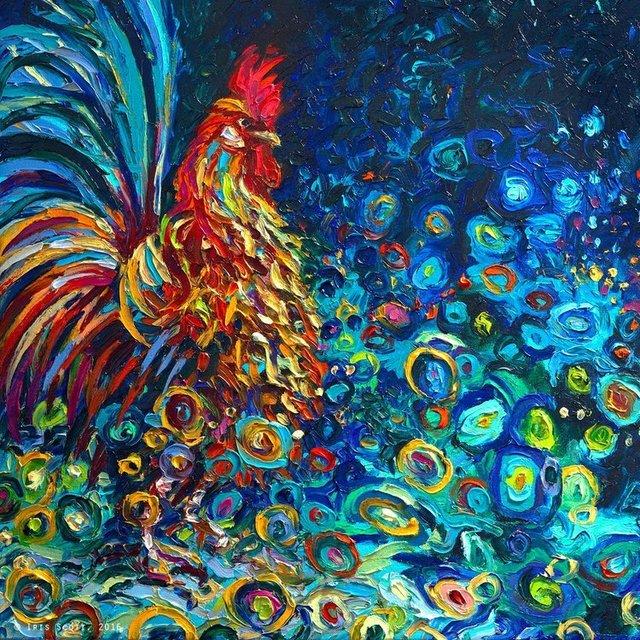 , 'Kikeriki,' 2016, Adelman Fine Art
