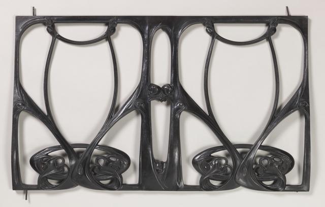 Hector Guimard, 'Balcony grille', 1909-1911, Cooper Hewitt, Smithsonian Design Museum